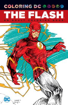 The Flash An Adult Coloring Book By Various