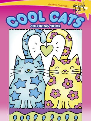18 OFF Spark Cool Cats Coloring Book