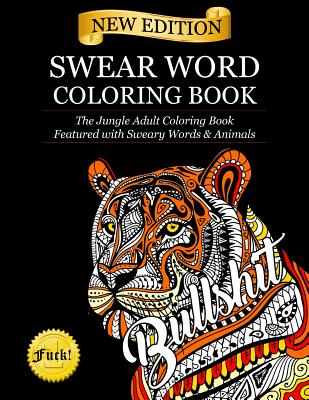 15 OFF Swear Word Coloring Book The Jungle Adult