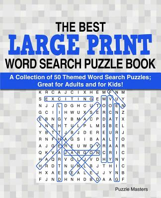 photo relating to Large Printable Word Search known as The Least complicated Hefty Print Term Glimpse Puzzle E-book: A Range