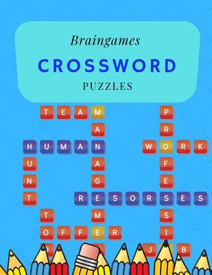 Braingames Crossword Puzzles: Crossword Word Search