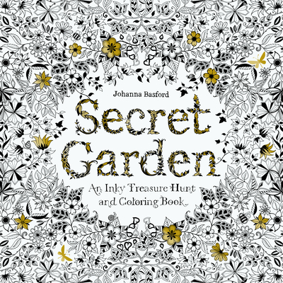 15 OFF Secret Garden An Inky Treasure Hunt And Coloring Book By Basford Johanna