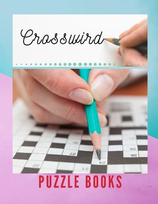 Crosswird Puzzle Books: Rossword Puzzle Books, Easy