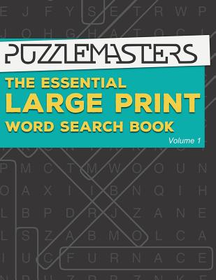 The Essential Large Print Word Search Book: 50 Fun Themed