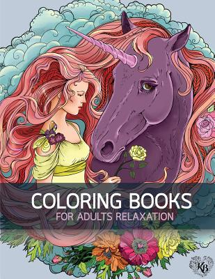 Big Book Of Horse Flowers Decorative Adult Coloring Anti Stress Adults To Bring You Back Calm Mindfulness By Bury Kierra