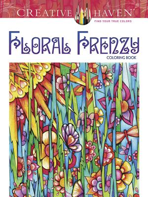30 OFF Creative Haven Floral Frenzy Coloring Book