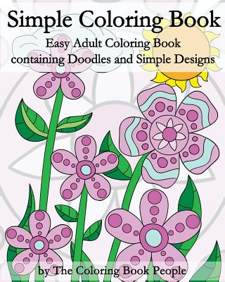 25 OFF Simple Coloring Book Easy Adult