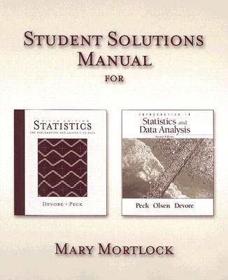 Statistics: the exploration & analysis of data, 7th edition cengage.
