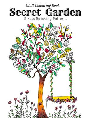 Adult Coloring Book Secret Garden Relaxation Templates For Meditation And Calmingadult Colouring Books Ladies Colo By