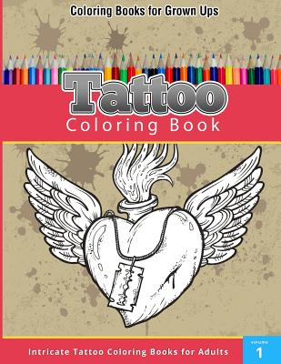15 OFF Tattoo Coloring Book By Publishing Chiquita