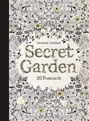 Secret Garden 20 Postcards