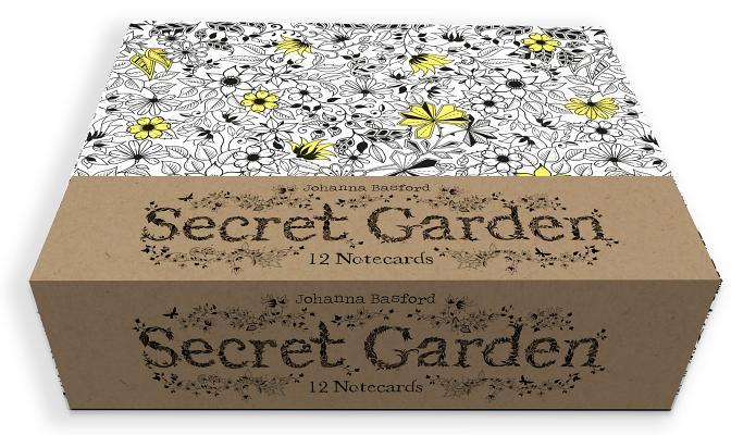 Secret Garden 12 Notecards