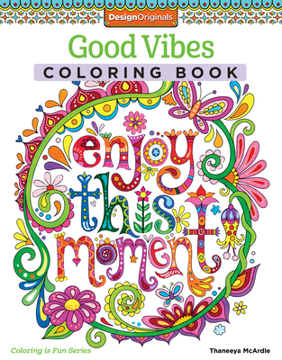 15 OFF Good Vibes Coloring Book By McArdle Thaneeya