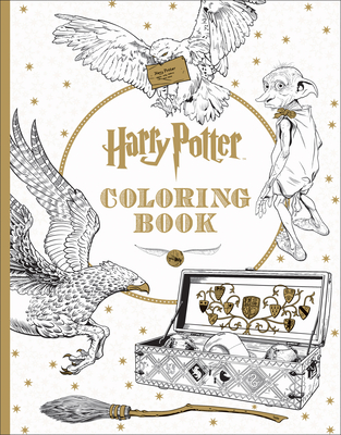 Harry Potter Coloring Book By Scholastic Inc